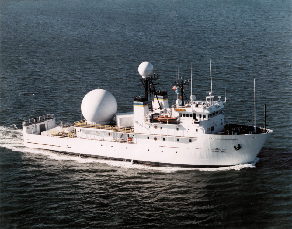 T-AGM-24 (1987-) USNS Invincible