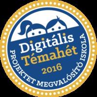 Csatlakoztunk a Digitális Témahét programhoz!