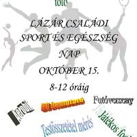 Lázár családi sport és egészség nap