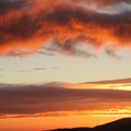 A Mátrában a felhők fölött süt a nap