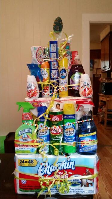 Valami a konyhába:tisztítószerek ajándék kosár<br />