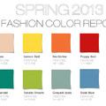 Sokkoló merész vibráló színek 2013 tavaszára