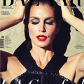 Cindy Crawford a Harper's Bazaar címlapján domborít