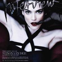 Winona Ryder az Interview magazin címlapján