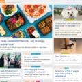 Blog.hu címlapon volt a lecsós január elején!