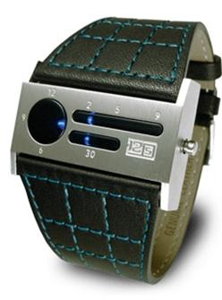 Ez a futurisztikus sci-fi óra garantáltan felkelti a figyelmet. A 12-5-9 B  Silver LED ... 79851368c8
