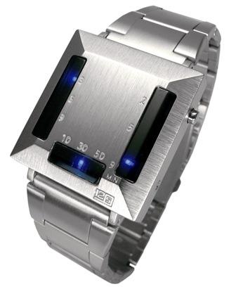A Seahope 12-5-9 C Silver LED óra egy tekintélyt parancsoló design.  Agresszív megjelenésű óra 633ae354f7