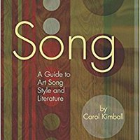 >OFFLINE> Song: A Guide To Art Song Style And Literature. tercera nuestros halla Kaolin Conozca