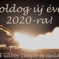 Boldog új esztendőt 2020-ra!