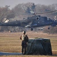Rendkívüli állománygyűlés - Mi-24-es bemutatóval