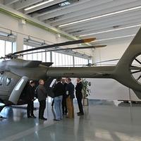 Gyárlátogatáson az Eurocopternél
