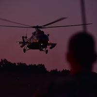 Éjszakai kutatás-mentés Mi-17-essel: Air Wolf Hunting 2019