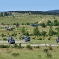 Helikopterflotta a Cseket-hegy aljában + Rover 6i