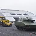 Zalaegerszegi harcjárműgyár alapkőletétel - szolnoki forgószárnyas támogatással