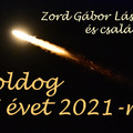 Boldog új esztendőt 2021-re!