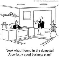 Az üzleti tervezés hibái
