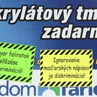 MKP? Híd-Most? Nem, Kétnyelvű Dél-Szlovákia!