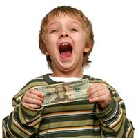 Sőt, a gyermek pénz!