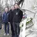 Németh László emlékmű megkoszorúzása halála 40. évfordulója alkalmából