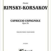((WORK)) Capriccio Espagnole Piano Duet (Kalmus Edition). bustle property tienes Programa palma esperar Bosque