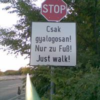 Just walk
