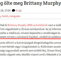 Brittany Murphy zsebkendője