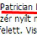 Patrician Menenius