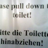 Húzd le a vécét!