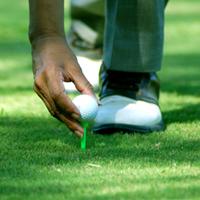 Darált golflabda