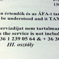 Our prices in HUF to be understood and it TAX it is included