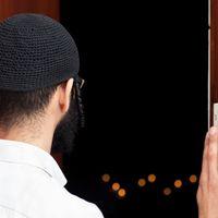 A zsidó otthonok összetéveszthetetlen jele az ajtófélfán