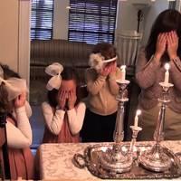 Szombati gyertyák az otthoni spirituális fényei