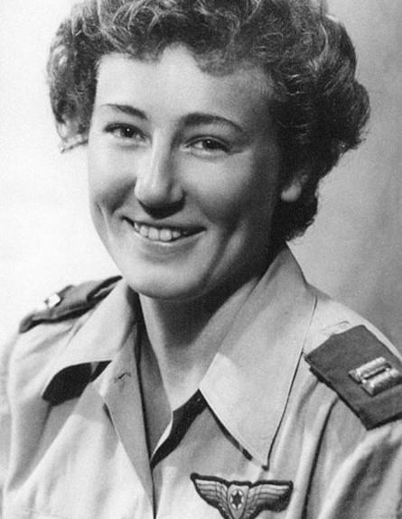 Az első izraeli női pilóta