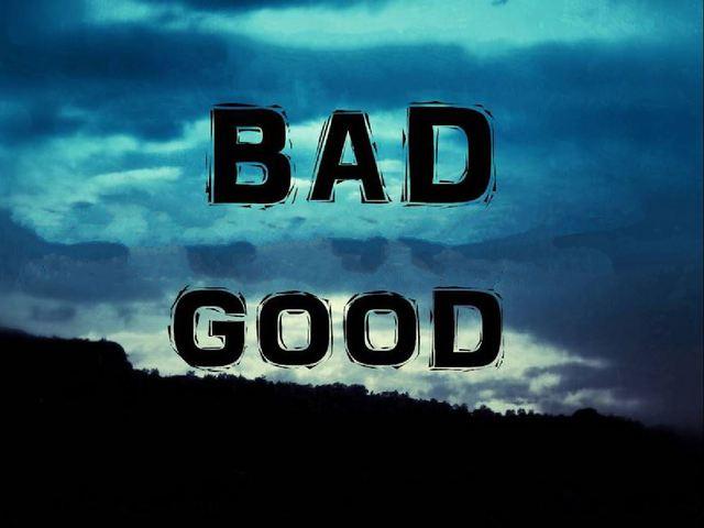 A jó dolgok a rosszból születnek