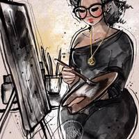Grafikusművész, aki berajzolja magát a csillagok közé - Inspiráló nők - Interjú
