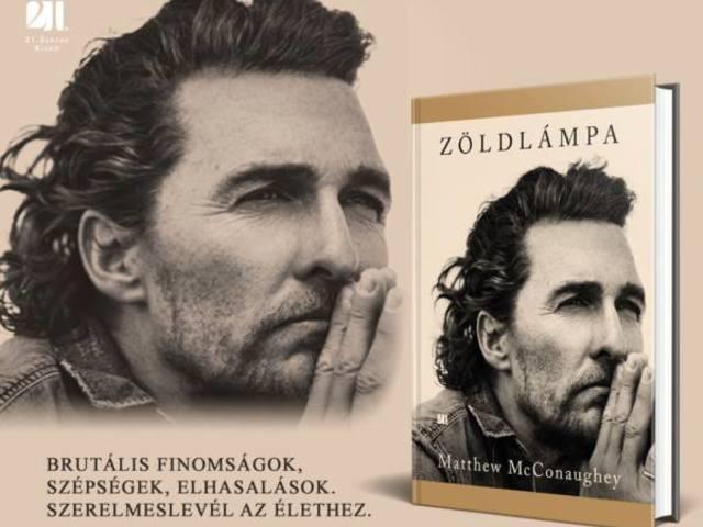 Könyvajánló: Matthew McConaughey - Zöldlámpa