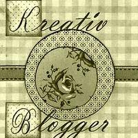 Szolgálati közlemény - Kreatív Blogger - díj