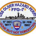 Hajók, nevek, névadók III.: Az Oliver Hazard Perry-osztályú rakétás fregatt