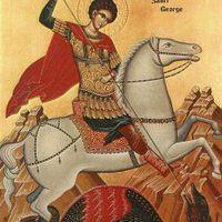 Sárkányölő Szent György (x)