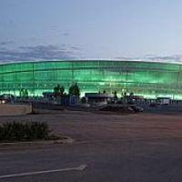 Fényárban a wrocławi stadion
