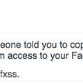 Facebook már a consol logban is.