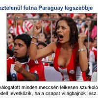 Paraguay Országimázs Larissa Riquelme - csütörtököt mondok