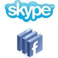 Facebook és a Skype kézfogás