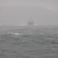 Hiszem mert láttam, avagy a Manly komp a viharos tengeren