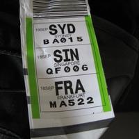 Eger-Budapest-Frankfurt-Szingapúr-Sydney 2011.09.18-20