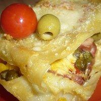 zöldséges lasagne vegyesházasságból (AnicasubRosa)