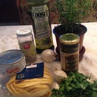 Gyors tonhalas tészta