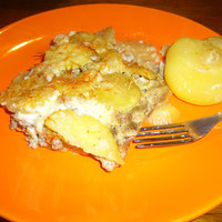 Könnyű - és nem a hagyományos - rakott krumpli (AnicasubRosa)