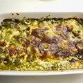 Spenótos csirkemelles gnocchi sütőben