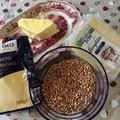 Polenta taragna - sajtos hajdinás polenta Lombardiából